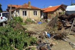 Destruction Flooding Bulgaria Asparuchovo Stock Images