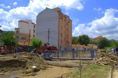 Destruction Flooding Bulgaria Royalty Free Stock Images