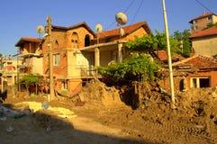 Destruction after flooding Bulgaria Royalty Free Stock Image