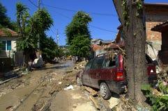 Destruction flooding Bulgaria Stock Image