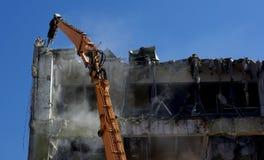 Destruction site Stock Photo