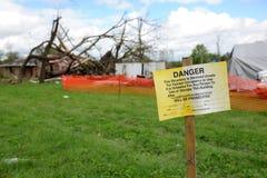 Destruction After Tornadoes Hit Saint Louis Royalty Free Stock Images