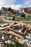 Destruction After Tornadoes Hit Saint Louis. SAINT LOUIS, MO – APRIL 22: Destruction left behind by tornadoes that ravaged the area. April 22, 2011 in Saint Stock Photos