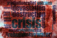 Destruction word cloud Stock Photo