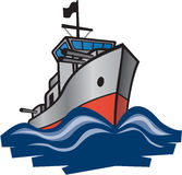 Destructor de la marina Imágenes de archivo libres de regalías