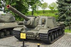 Destructor del tanque soviético ISU-152 Foto de archivo libre de regalías