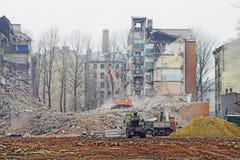 destruição Foto de Stock