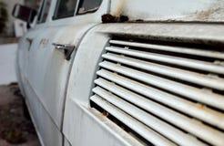 Destruição abandonada do carro Fotos de Stock Royalty Free