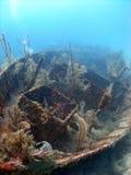 Destruição de um navio Fotografia de Stock Royalty Free