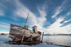Destruição do barco Foto de Stock Royalty Free