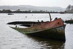 Destruição do barco Fotos de Stock