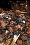 A destruição do incêndio 08 imagens de stock royalty free