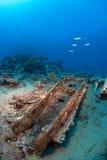 Destruição do navio fotografia de stock royalty free