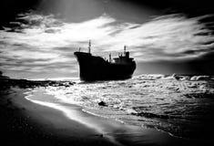 Destruição do navio Imagens de Stock Royalty Free
