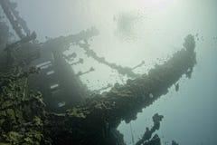 Destruição do navio de Úmbria no Mar Vermelho Imagem de Stock Royalty Free