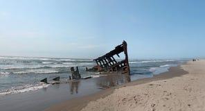 A destruição do navio de Peter Iredale Imagens de Stock Royalty Free