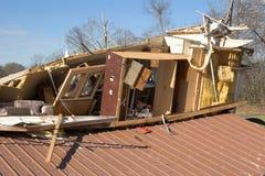 Destruido a casa Fotografía de archivo libre de regalías