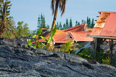 Destruido a casa Fotografía de archivo