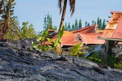 Destruido a casa Foto de archivo libre de regalías