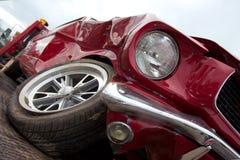 Destruição do carro Imagem de Stock