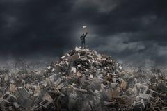 Destruya y demuela Foto de archivo libre de regalías