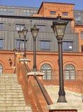 Desván Aparts en Lodz, Polonia Fotos de archivo