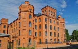 Desván Aparts en Lodz, Polonia Fotografía de archivo