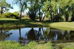 Desvío de agua Fotografía de archivo libre de regalías