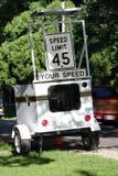 Desvío de velocidad Fotografía de archivo libre de regalías