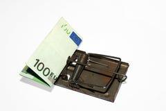 Desvío del dinero imagen de archivo