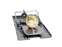 Desvío euro foto de archivo