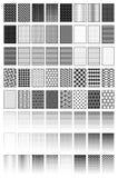 Desvanecem-se, os testes padrões, texturas Imagens de Stock