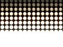 Desvanecer-se conduziu luzes Imagem de Stock Royalty Free