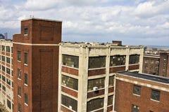 Desvanes en Cleveland céntrica Fotografía de archivo libre de regalías