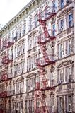 Desvanes y apartamentos de Soho Fotos de archivo