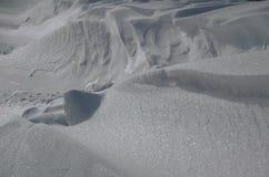 Desviación de la nieve Imagen de archivo libre de regalías
