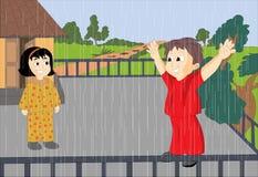 deszcz ilustracja wektor