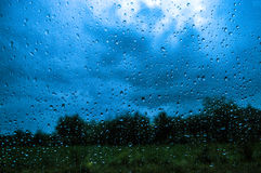 deszcz Zdjęcia Royalty Free