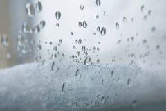 Deszcz i śnieg Obraz Stock