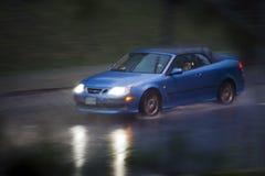 deszcz jazdy Zdjęcia Royalty Free