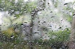 Deszcz krople Zdjęcia Royalty Free