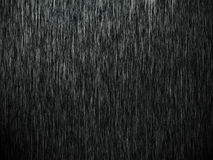 Deszcz na czerni Fotografia Stock