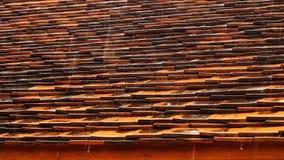 Deszcz na dachu Obrazy Royalty Free