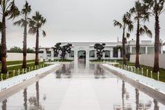Deszcz na willi Zdjęcia Stock