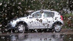 Deszcz opuszcza abstrakcjonistycznego tło Obrazy Royalty Free