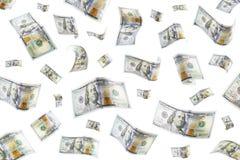deszcz pieniędzy fotografia royalty free