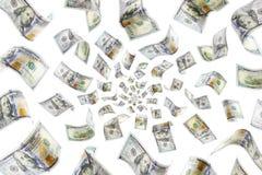deszcz pieniędzy obrazy royalty free