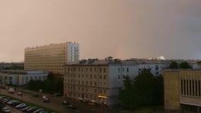 Deszcz w St Petersburg zbiory
