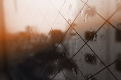 Deszcz w Tokio zdjęcie stock