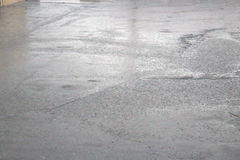 Deszcz z gradem Zdjęcia Royalty Free